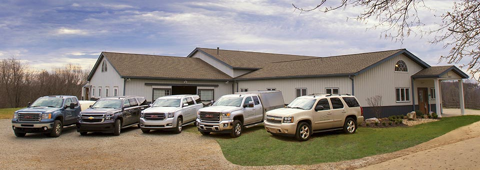 Emergency vehicles ready to travel to your barn. | Allegheny Equine - Ambulatory and Emergency Care